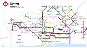 Metro Map Chicago by Subways Transport
