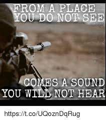 I Can See Sounds Meme - from a place you do nor see comes a sound you will not hear