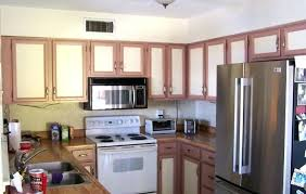 Two Color Kitchen Cabinet Ideas Two Colored Kitchen Cabinets Image Of Picture Of Two Tone Kitchen