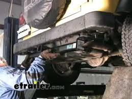 2006 jeep liberty trailer hitch trailer hitch installation 2000 jeep wrangler etrailer com