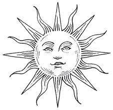 sun something similar a bit more decorative tattoos