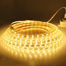 aliexpress com buy ac 220v led strip light smd5050 60leds m ip67