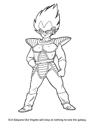 ball z gt coloring pages