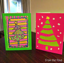 free christmas card ideas for children to make home design