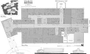 Site Floor Plan by Beaver Island New Beaver Island Rural Health Center Floor Plan And