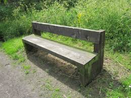file wooden bench at rivacre country park jpg wikimedia commons