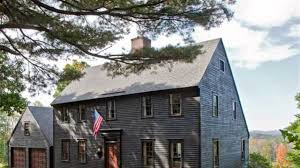 saltbox colonial house plans 17th century colonial house designs youtube