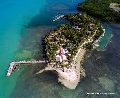 island wedding photographer aerial photography of palm island miami wedding