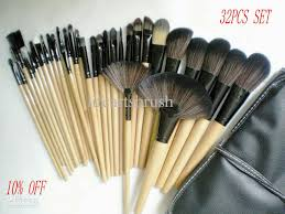 discount professional makeup new hot 10 discount professional cosmetic brushes set synthetic