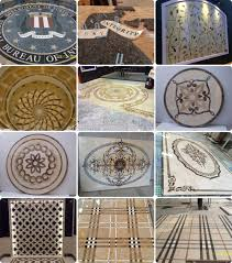 modern marble flooring design marble inlay tile medallion water