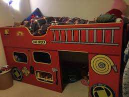 Bedroom Fire Engine Toddler Bed Step  Fireman Bed Fire Truck - Step 2 bunk bed