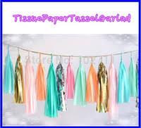 wholesale tissue tassel garland buy cheap tissue tassel garland