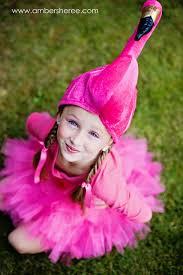 Pink Flamingo Halloween Costume Child Flamingo Costume Crafts Flamingo Costume Flamingos