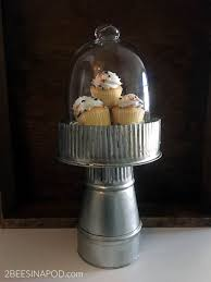 galvanized cake stand diy galvanized cake stand 2 bees in a pod