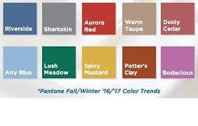fall color trends 2016 creative coverings