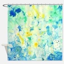 watercolor shower curtains watercolor fabric shower curtain liner