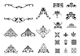 ornament brushes pack free photoshop brushes at brusheezy