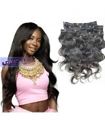 clip in human hair extensions hair cambodian wave clip ins human hair extensions