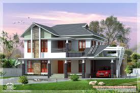 2 beautiful villa elevation designs in 2700 sq feet kerala home