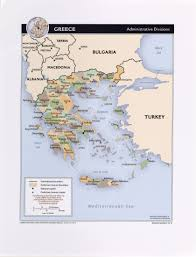 Map Of Athens Greece by