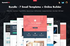 Campaign Monitor Responsive Email Template by Bundle 7 Email Templates Builder Email Templates Creative