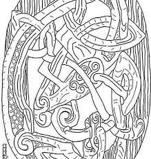 celtic coloring celtic dragon coloring pages hellokids