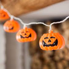 15 halloween pumpkin indoor led fairy lights by lights4fun amazon