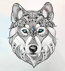 wolf tattoo meaning tribal wolf sign