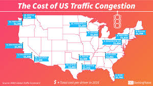 Traffic Map Los Angeles by Here U0027s How Much Money Traffic Costs You And The Us Gobankingrates