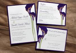 calla lily wedding invitations calla lily wedding invitations and
