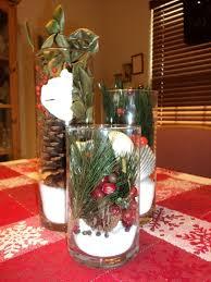 decor cheap christmas centerpieces on glass vase and pine for cheap christmas centerpieces on glass vase and pine for home decoration ideas