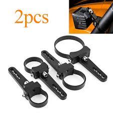 roll bar mount led light aluminum tube bull roll bar mount bracket cls holder for car off