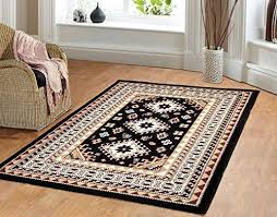 Southwestern Throw Rugs Southwest Southwestern Lodge Tribal Area Rug Style Carpet Black