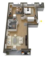 Floor Plans With Pictures Of Interiors 40 More 1 Bedroom Home Floor Plans
