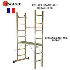 Petit Echafaudage Roulant by Escalux échelle échafaudage Escabeaux Marche Pieds Clic
