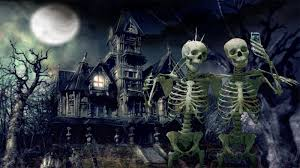 repeating halloween background awakenings october 2015