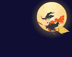 halloween witch wallpaper wallpapersafari