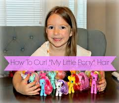 pony hair how to curl my pony hair time
