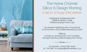 the home channel dècor and design morning joburg