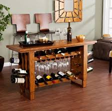 wine rack console table console table wine rack hall side bottle holder storage up to 30