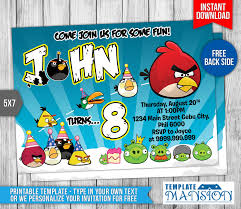 Angry Bird Invitations Templates Ideas Angry Birds Invitations Images Reverse Search