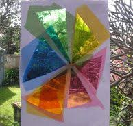 Kids Stained Glass Craft - see how you can melt crayola crayons into these diy fish window