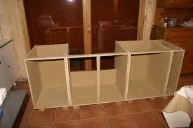 fabriquer caisson cuisine fabriquer caisson cuisine meuble salle de bain avec plan de travail