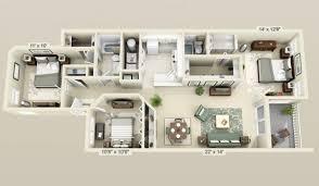 3 bedroom home design
