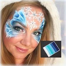snow princess fairy face painting tutorial by lisa joy young