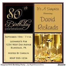 15 sample 80th birthday invitations templates ideas u2013 free sample