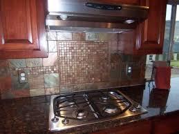 glass mosaic tile kitchen backsplash modern yet inexpensive