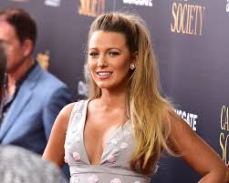 hairstyles for giving birth blake lively attends best friend s wedding after giving birth