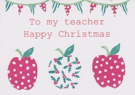 yellow christmas card sayings for teacher printable christmas
