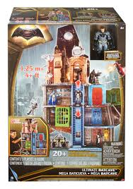 Wayne Manor Floor Plan Batman Vs Superman Ultimate Batcave Playset Walmart Com